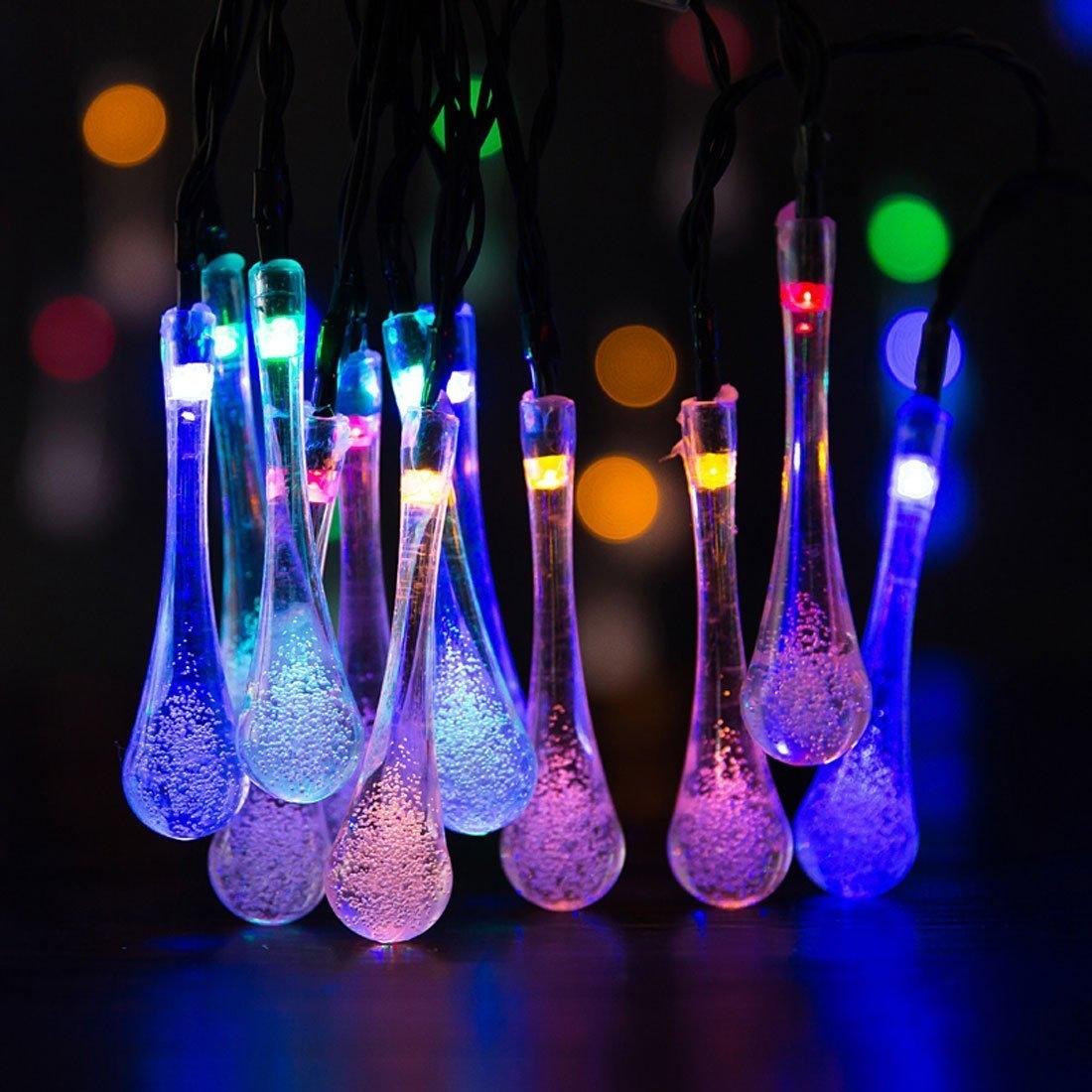 Solar outdoor string lights solar outdoor string lightsled rakunew mozeypictures Gallery