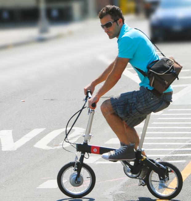 超 軽量 折りたたみ 自転車